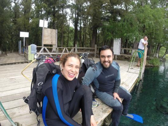 Media Luna School of Diving: A punto de comenzar