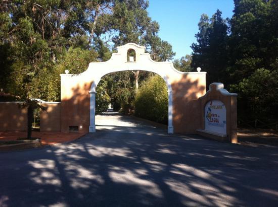 Quinta de Lagoa: Entrada