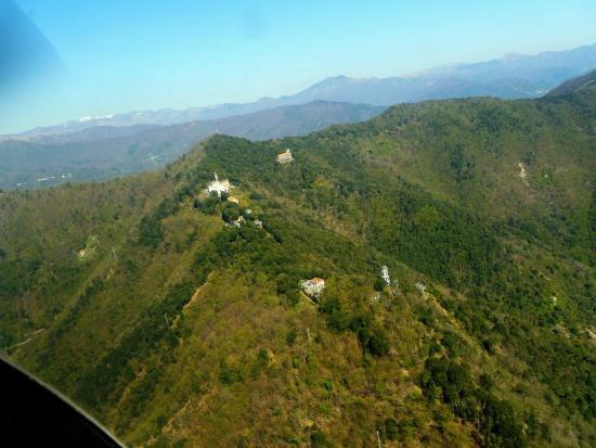 Santuario di Montallegro : Veduta aerea di Montallegro