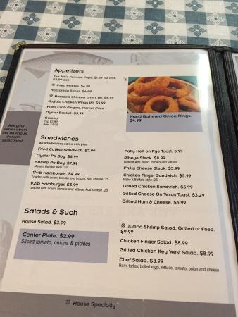 Riverside, AL: Menu1