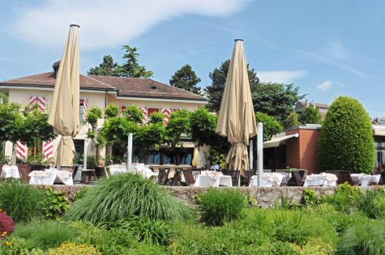 Le Restaurant du Port: Beautiful terrace