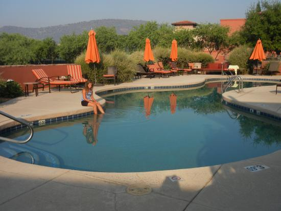adult only pool picture of hilton sedona resort at bell. Black Bedroom Furniture Sets. Home Design Ideas