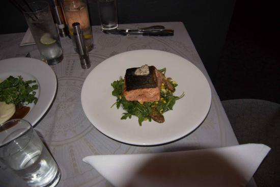 Alchemy Restaurant and Bar: Salmon entre