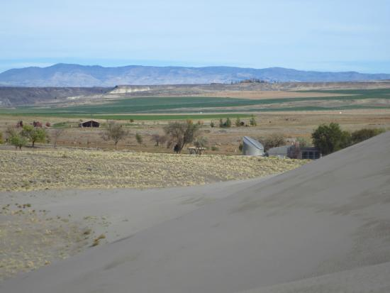 Bruneau, Idaho: View from atop one of the dunes, photo #2