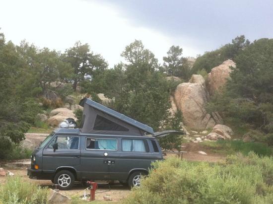 KOA Campground: Our site at the Buena Vista KOA