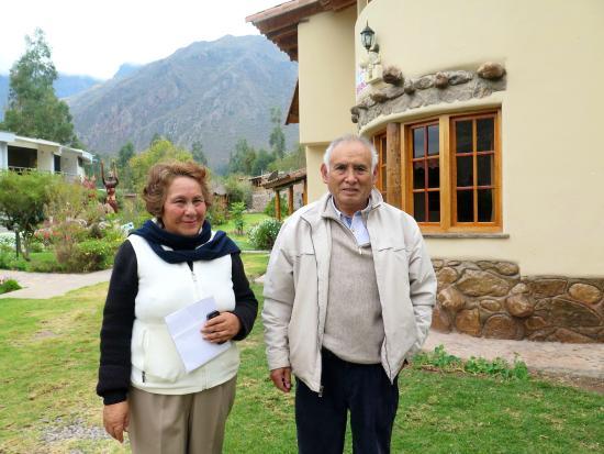 Inti Nan Hotel : Norma and Vicente