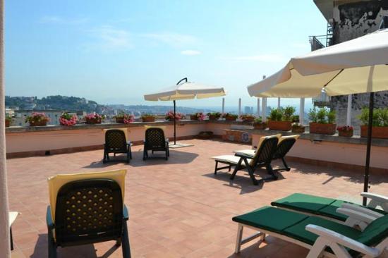 L'Agrumeto Bed & Breakfast: Il terrazzo dell'Agrumeto b&b Napoli