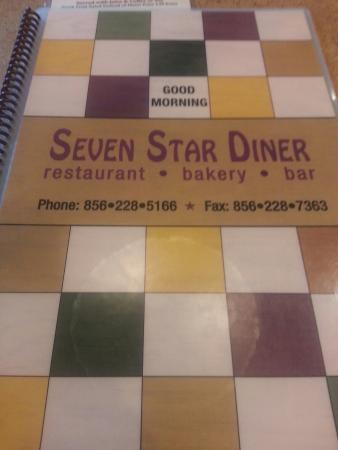Seven Star Diner: Large menu options