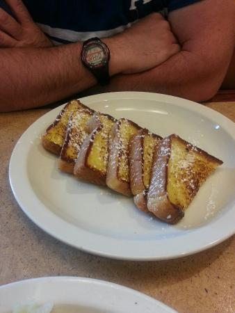 Seven Star Diner: French toast