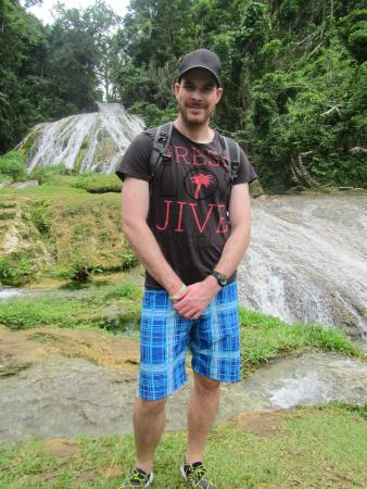 Atmosphere Tours: Me at Lololima Falls