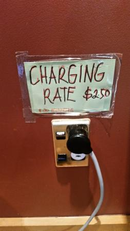Charging for charging !