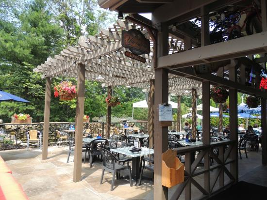 the patio - Picture of Redhawk Grille, Painesville - TripAdvisor