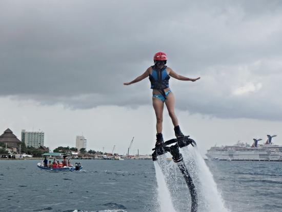 Go Flyboard: tienen que volar con GoFlyBoard Cozumel!