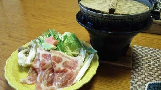 Iwanai Kogen Hotel : 夕食
