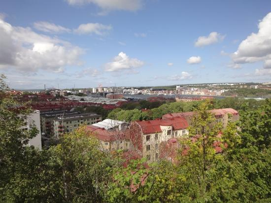 Masthuggskyrkan: View of Goteborg from Church