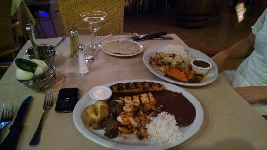 El Churrasco : BBQ dinner
