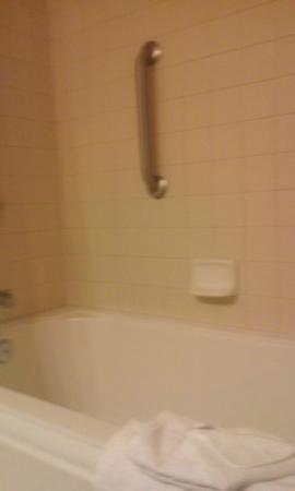 Comfort Inn & Suites: Shower/Bath tub