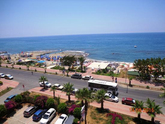 Emir Fosse Beach Hotel: Вид из ресторана