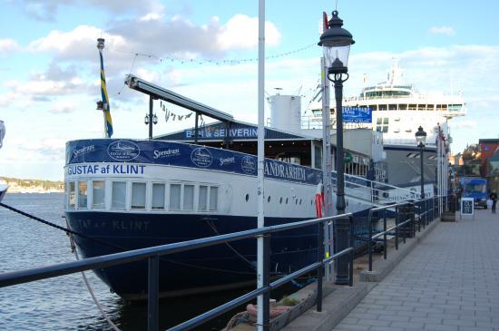 Gustav Af Klint Hotel/Hostel: Вид на хостел