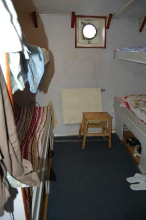 Gustav Af Klint Hotel/Hostel: каюта на четверых
