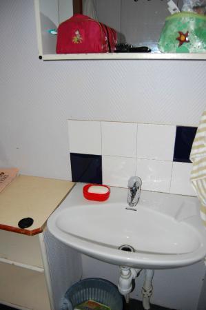 Gustav Af Klint Hotel/Hostel: в каюте есть раковина