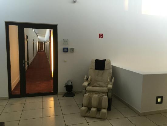 Das Wildeck: Upstairs Corridor