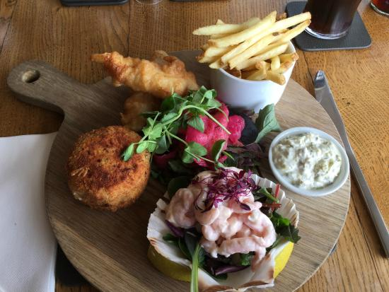 The Sawley Arms: The fish platter