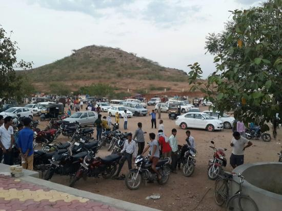 Narnaul, India: Khalda wala balaji