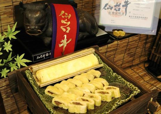 Hotel Hokke Club Sendai : 牛すきだし巻