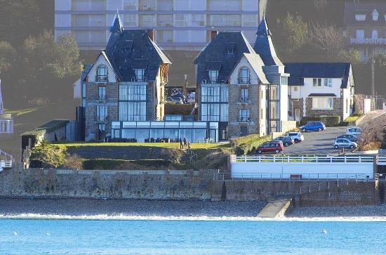 Hotel Restaurant Ker Mor: Vue de mer