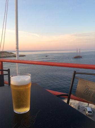 The GunPost - Bar & Restaurant: View from Gunpost Bar&Restaurant