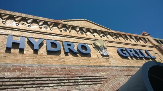 Hydro Bar and Grill: Hydro sign