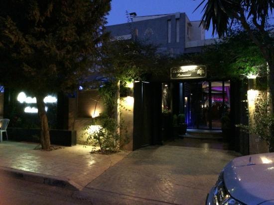 Exterior of the restaurant - Picture of La Maison Verte, Amman
