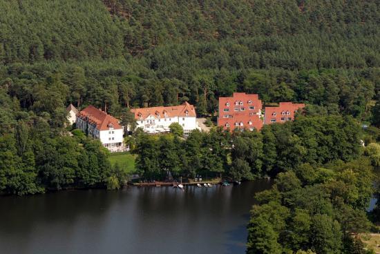 Mittenwalde, Niemcy: Residenz Motzen aus der Luft
