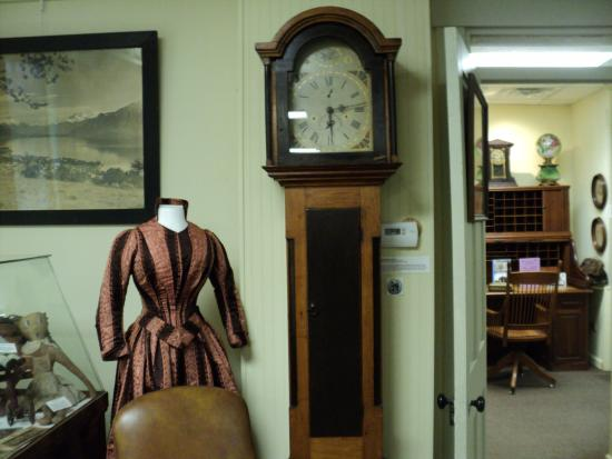 Vevay, IN: Display in the Switzerland County Historical Society