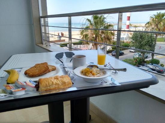 Hotel Adiafa: View from balcony