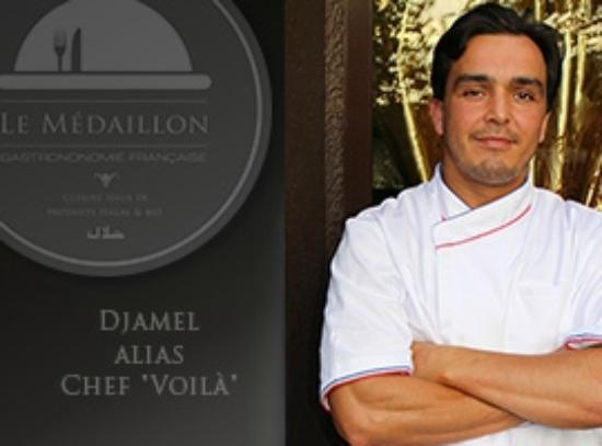 "Villejuif, Frankreich: Chef ""Voilà"""