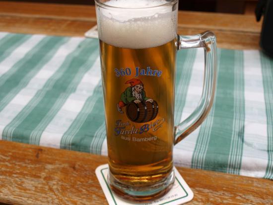 Brauereigasthof Faessla : Goldpils