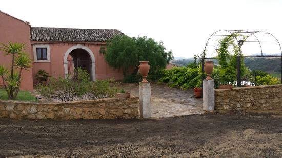 Villa D'andrea: L'ingresso