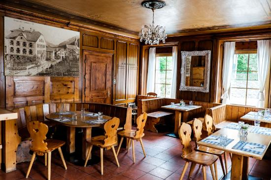 Cunter, Suiza: our cozy restaurant