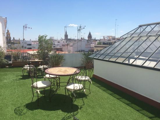 Terraza Superior La Casa Del Maestro Seville Resmi Tripadvisor