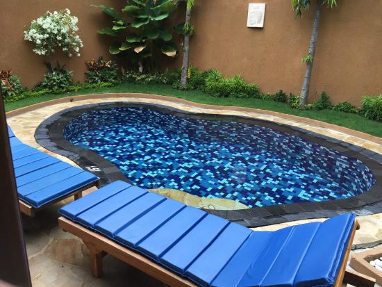 Parigata Villas Resort: private swimmingpool