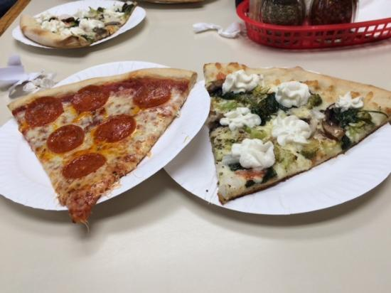 Carmela's Cucina: It's pizza - large slices too