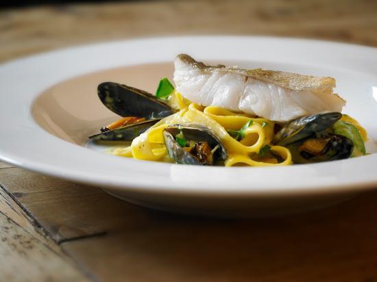 Scannells Bar : Seafood Tagliatelle