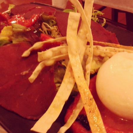 La Tagliatella Abando, Bilbao: Insalata di burrata con bresaola