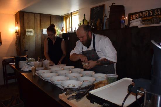 Chef Josh Fidler Of Company