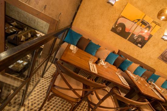 Restaurant Le LOFT : Salle étage