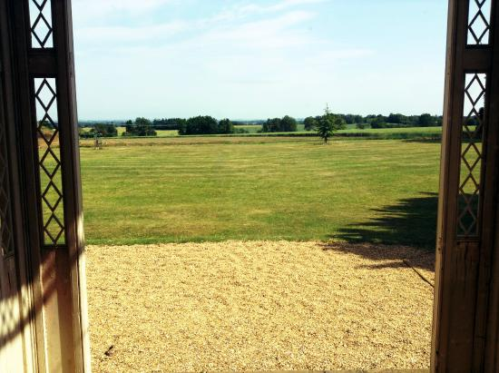 The Old Kitchen: View Over Grounds