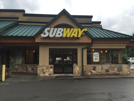 Subway Gatlinburg 1359 E Pkwy Restaurant Reviews