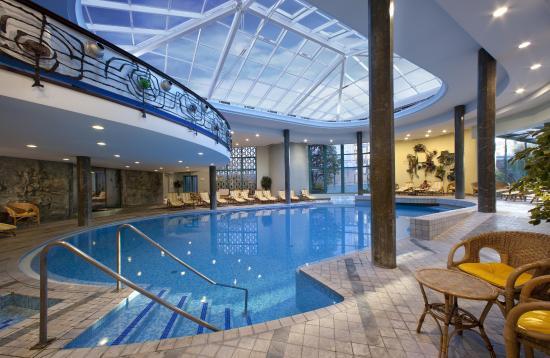 Hotel Bristol Buja: Piscina interna
